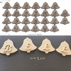 foto2.JPG Download STL file BELL EASTER 3d letters STL file • 3D print model, 3dlettersandmore