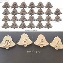 Descargar diseños 3D CAMPANA DE PASCUA 3d cartas STL archivo, 3dlettersandmore