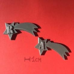 IMG_7572.jpg Télécharger fichier STL CHRISTMAS COMET 3D letters stl file • Modèle à imprimer en 3D, 3dlettersandmore