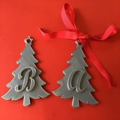 IMG_7460.jpg Download STL file CHRISTMAS TREE 3D letters stl file • 3D print object, 3dlettersandmore