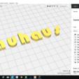 Télécharger plan imprimante 3D BAUHAUS police minuscules 3D lettres minuscules fichier STL, 3dlettersandmore