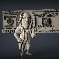 304.jpg Télécharger fichier STL gratuit Dollar argent cnc routeur art • Modèle pour impression 3D, Terhrinai