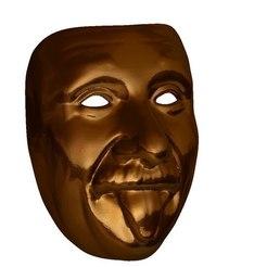 Descargar modelos 3D gratis Enshteyn mask cnc router art, Terhrinai
