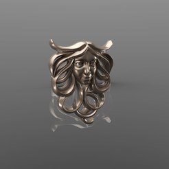 Descargar diseños 3D gratis Cara chica cnc art Modelo 3D, Terhrinai