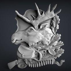 18.jpg Télécharger fichier STL gratuit trophée de l'orignal cnc router art • Modèle imprimable en 3D, Terhrinai