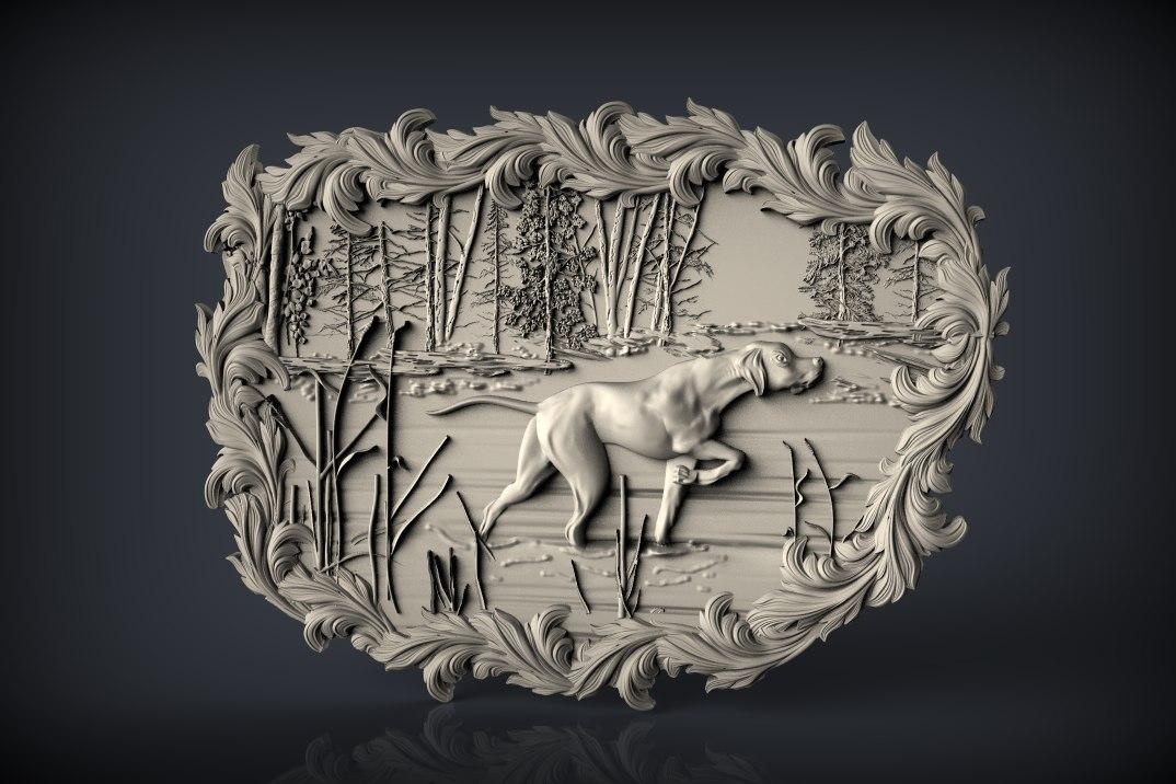 297.jpg Télécharger fichier STL gratuit chien lévrier chasse cadre de scène cnc art • Design pour imprimante 3D, Terhrinai