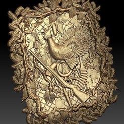 Download free STL file pheasant on a tree cnc router • 3D printable model, Terhrinai
