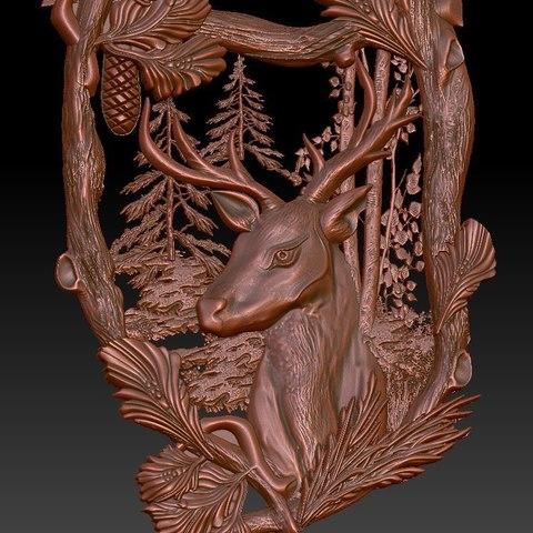 Télécharger fichier impression 3D gratuit Défonceuse Deer cnc dans le cadre Forrest, Terhrinai