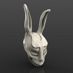 Impresiones 3D gratis máscara franca de la película cnc art bust, Terhrinai
