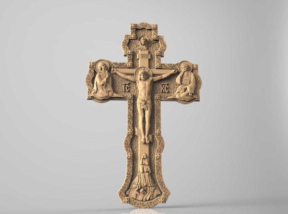 1000114.jpg Télécharger fichier STL gratuit Jesus christ croix croix romaine tuant cnc art • Modèle à imprimer en 3D, Terhrinai