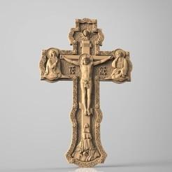 Descargar diseños 3D gratis Jesucristo cruz romana matando a cnc art, Terhrinai
