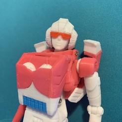Download STL file G1 Arcee • 3D printing template, Tim_Yeung
