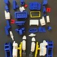 Download free 3D printer model G1 Soundwave, Tim_Yeung