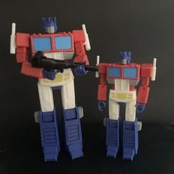 Descargar Modelos 3D para imprimir gratis G1 Optimus Prime, Tim_Yeung