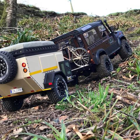 3D print model 1:10 Scale off road camper, RinoL