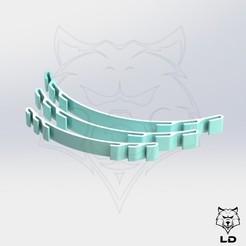 Descargar diseños 3D Set de ahorro para el oído, Lobo_Dorado_3D