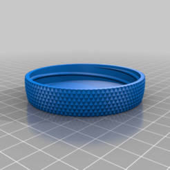 Download free 3D printing models My Customized Container with Knurled Lid, joshuakirky