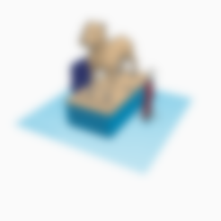 Télécharger fichier STL gratuit Boîte de dons, MinerBatman