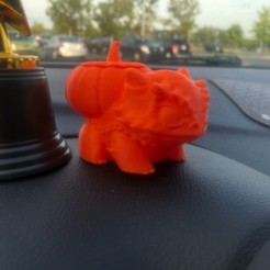 IMG_7172.jpg Download STL file Hallow Bulbi (Bulbasaur) • 3D printable model, MinerBatman