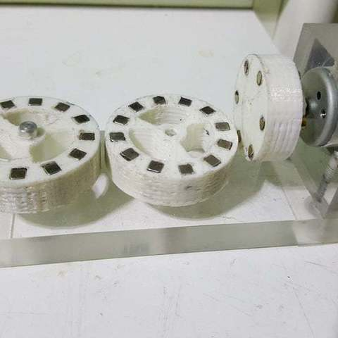 Download free 3D printer designs Magnetic gear, Porelynlas