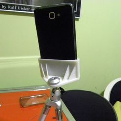 Download free 3D printing files tripod support for Galaxy S and Galaxy Note, Porelynlas