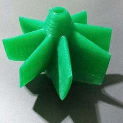 Download free 3D printing templates wind rotor, Porelynlas