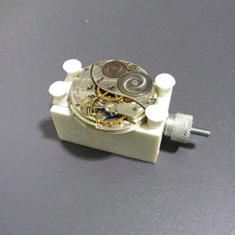 Download free 3D printer designs block watch movement, Porelynlas