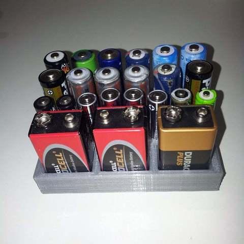 Download free STL file we order our batteries, Porelynlas