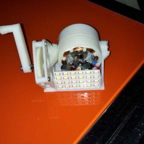 Download free 3D printer designs assemble a torch, Porelynlas