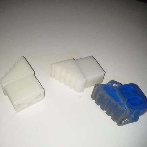 Télécharger modèle 3D gratuit Remplacer le caoutchouc de l'échelle en aluminium, Porelynlas