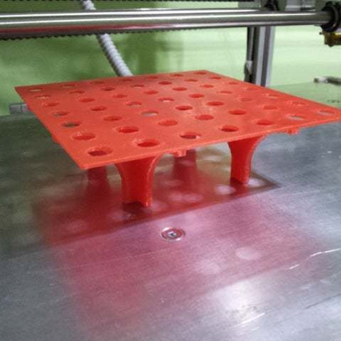 Download free 3D printing designs tube rack, Porelynlas