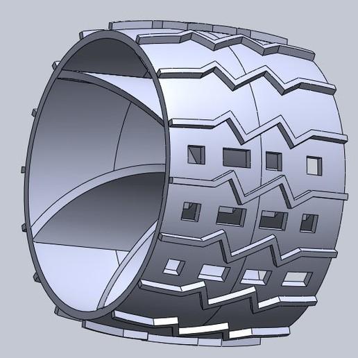 Télécharger plan imprimante 3D gatuit La roue de la curiosité, emmanuelmalveiro