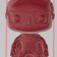 batman funko.png Download OBJ file Custom Batman Funko • Design to 3D print, aleto211
