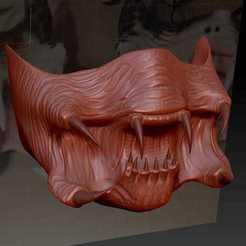 95951143_727574288047904_4391781137366646784_n.jpg Télécharger fichier OBJ Masque de prédateur • Plan pour impression 3D, aleto211