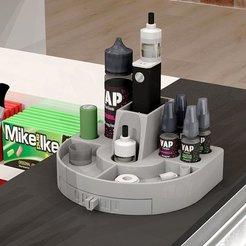 1picture.jpg Download STL file vapor holder,e-cigarette holder,vap holder,e-cigg holder • 3D print design, demaric84