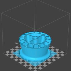 Download free STL file Pen holder • 3D printer model, yukio