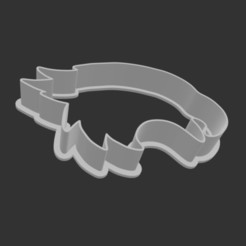 Download 3D printer templates Eagle Cookie Cutter, cesavant