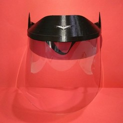 Batman.jpg Download STL file KIDS BATMAN FACE MASK HEADBAND • Model to 3D print, F3D_93