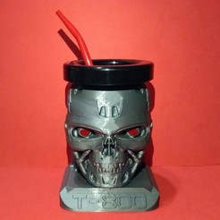 terminator (2).jpg Download STL file Matt Terminator T-800 • 3D printing template, F3D_93
