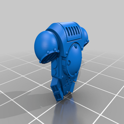 Download free 3D model Scottish Space Border Raider Backpack, Worldhopper