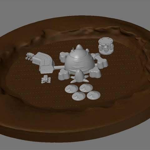 victoria2_display_large.jpg Télécharger fichier STL gratuit Mars base Inside Victoria Crater • Objet pour impression 3D, Reneton