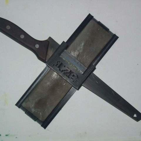 Télécharger fichier impression 3D gratuit Guide d'affûtage des couteaux, Reneton