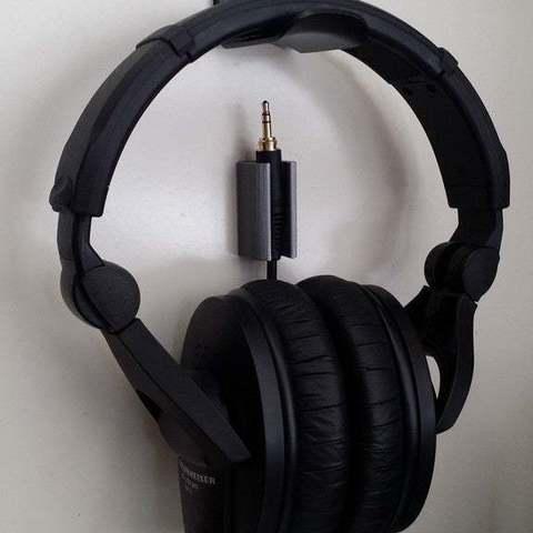 Free 3D printer model Headphone Cord Holder, Reneton