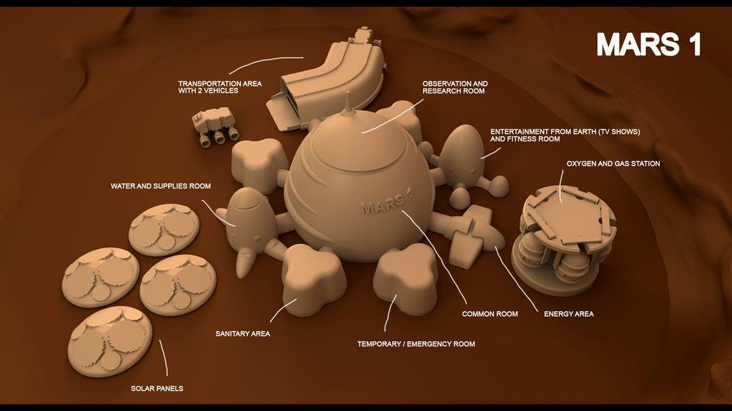 mars3_copia_display_large.jpg Télécharger fichier STL gratuit Mars base Inside Victoria Crater • Objet pour impression 3D, Reneton
