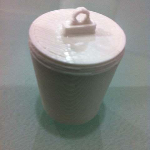 Télécharger objet 3D gratuit Petite tasse fabriquée avec PrintrBot Jr, Reneton