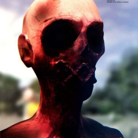 zombie_3_display_large.jpg Download free OBJ file Sewed Zombie • 3D print template, Reneton