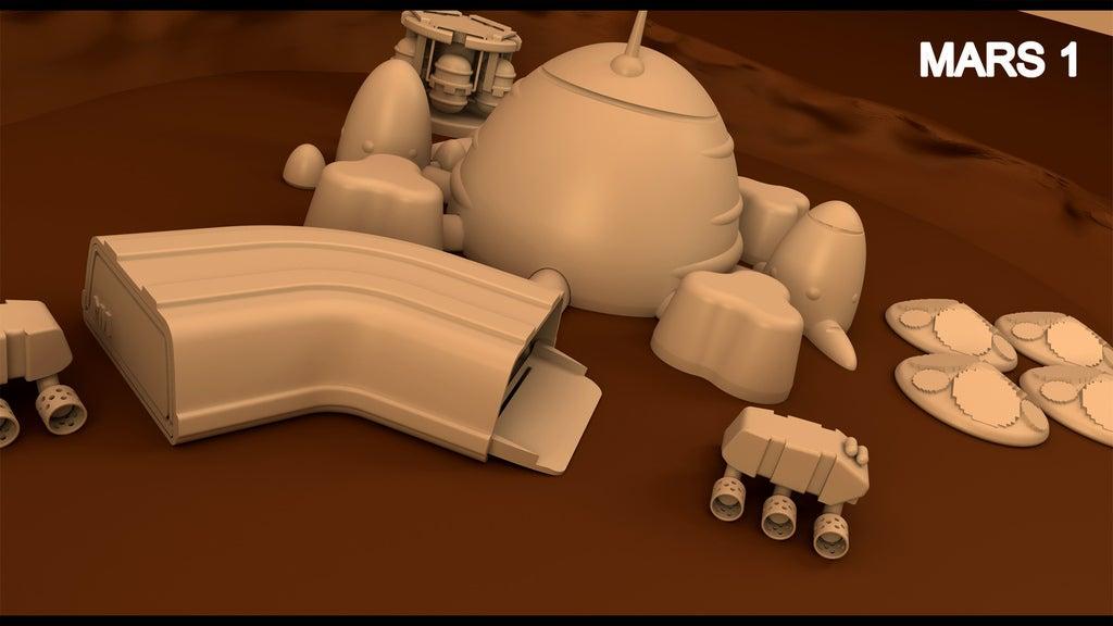 mars2_copia_display_large.jpg Télécharger fichier STL gratuit Mars base Inside Victoria Crater • Objet pour impression 3D, Reneton