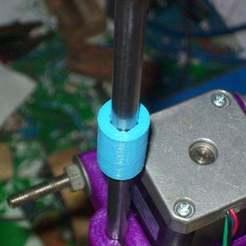 Download free STL file Printable LM8UU-sized PLA bushing • 3D print design, Reneton