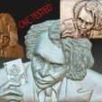 Descargar archivos 3D Fichero modelo Joker stl en bajo relieve - PRUEBA CNC, voronzov