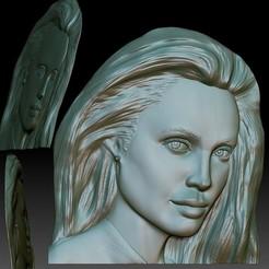 Download 3D printer templates Portrait relief STL file for CNC router - 3d model bas-relief based on your photo, voronzov